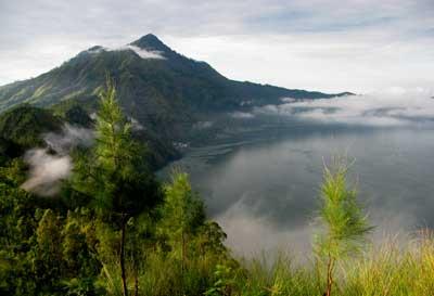 Caldera Batur, bali hiking