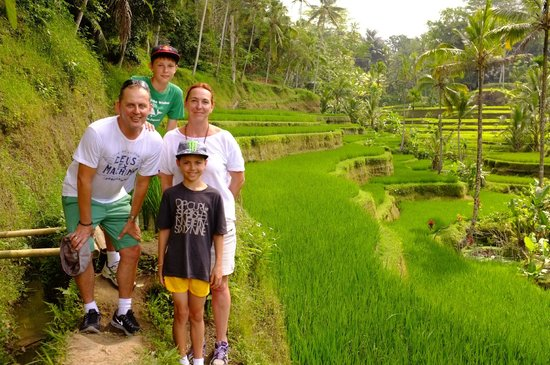 Tegalalang Rice Fields - Ubud Eco Walk