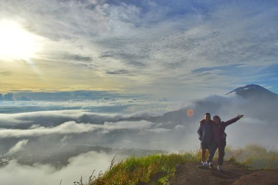 Caldera Batur Hiking Trekking - We are happy