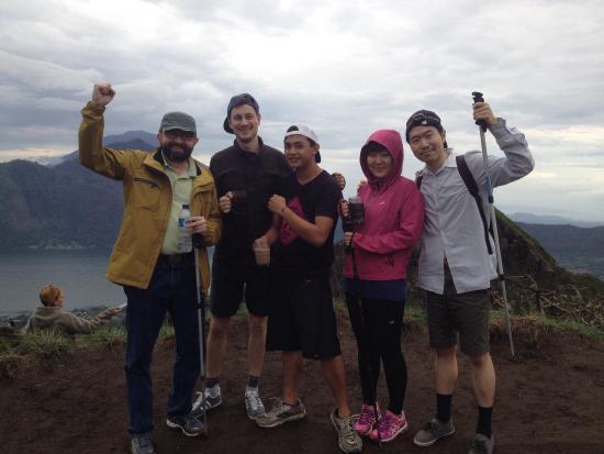 thanks bali hiking batur