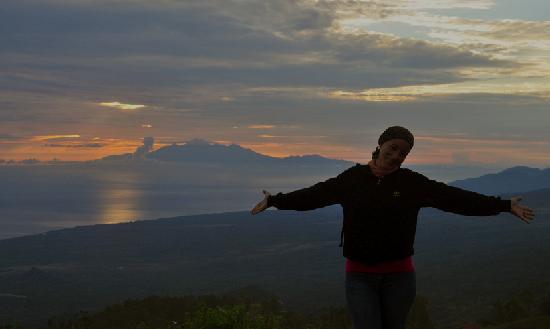 Caldera Batur - wanderfull panorama seen