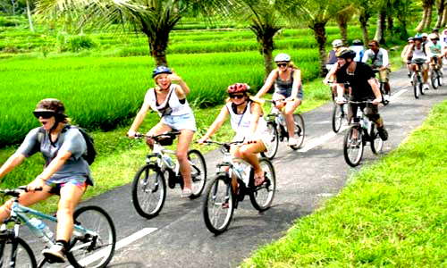 bali cycling, bali hiking